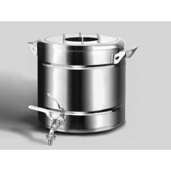 Distiller Ekonom 20L from stainless steel