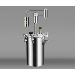 Autoklāvs - destilācijas aparāts no nerūsējošā tērauda Triumfs klasisks 17L