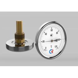Aksiaalne termomeeter 0-120°C