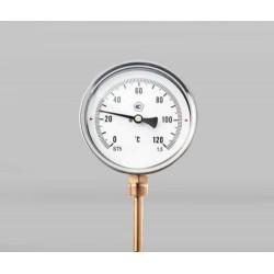Radialinis termometras 0-120°C