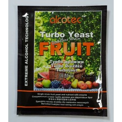 Alcotec Fruit Turbo Yeast 60g for 25L