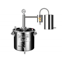 Distiller Majas 20L from stainless steel