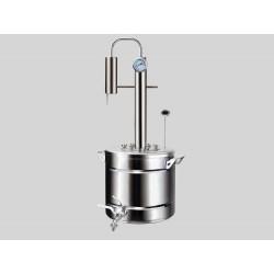 Destilācijas aparāts no nerūsējošā tērauda Elegants PRO 20L