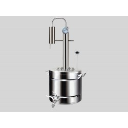 Distiller Elegants PRO 20L from stainless steel