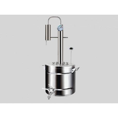 Distiller Elegants PRO 30L from stainless steel