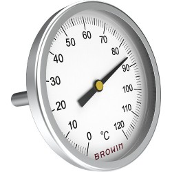 Termometrs universālais +0°C + 120°C ar vītni 11mm