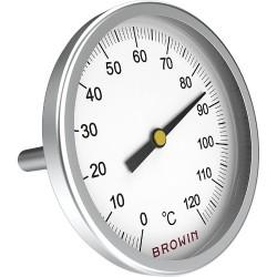 Universalus termometras + 0°C + 120°C su 11 mm sriegiu