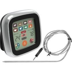 Elektroninis kontaktinis termometras su LCD jutikliniu ekranu (-20°C - +250°C)