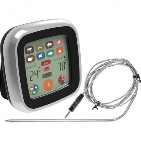 Pārtikas termometrs - elektronisks, LCD skārienjūtīgs, zonde 1m (-20°C - +250°C)