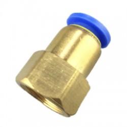 Savienotājs ar vītni 8mm clik sistēma 1/4 PCF8-02