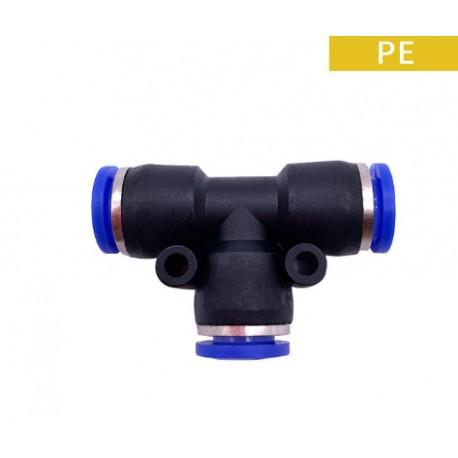 Savienotājs T 12mm clik sistēma (PE)