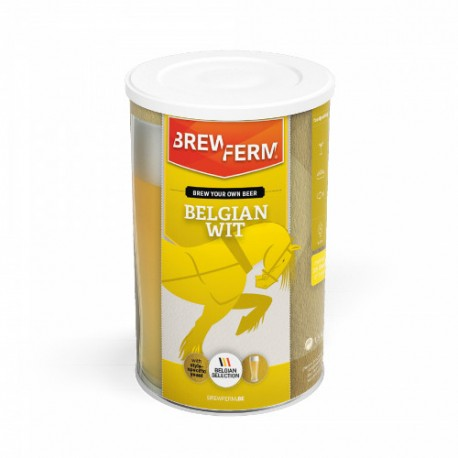 Alus iesala ekstrakts BREWFERM Belgian Wit uz 15L. ABV: 6,5%