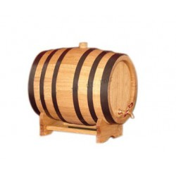 Oak barrel (20L) with crane