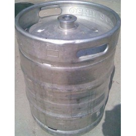 Beerkeg 50L (used) with A system (round) fitting