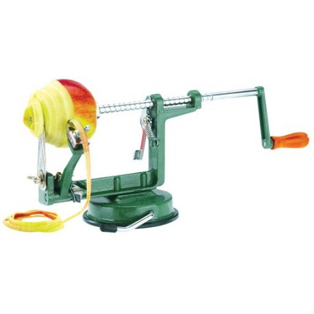 apple peeler manual suction pad