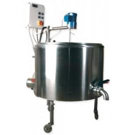 katilo SS +variklis + termostatas 100 l 10kw
