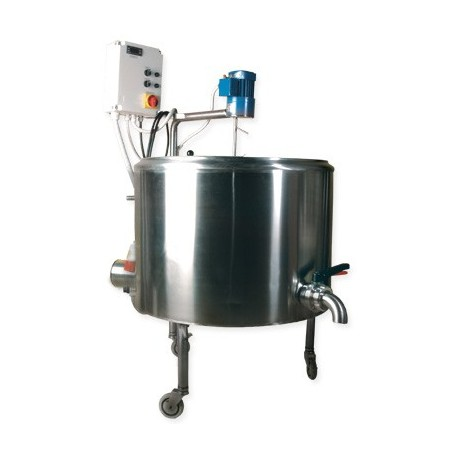 boiler SS +mootor + termostaat 100 l 10kw