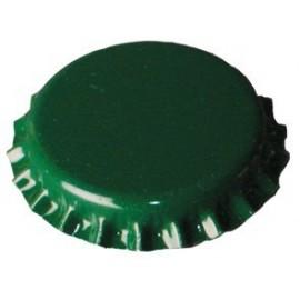 Metalo kepurės, alaus buteliai 0,5 L