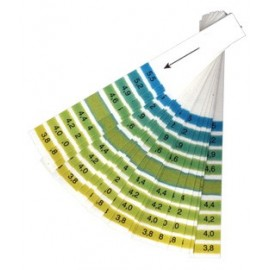 Ph test strip 3,8-5,5 (wine/beer) 20 pc