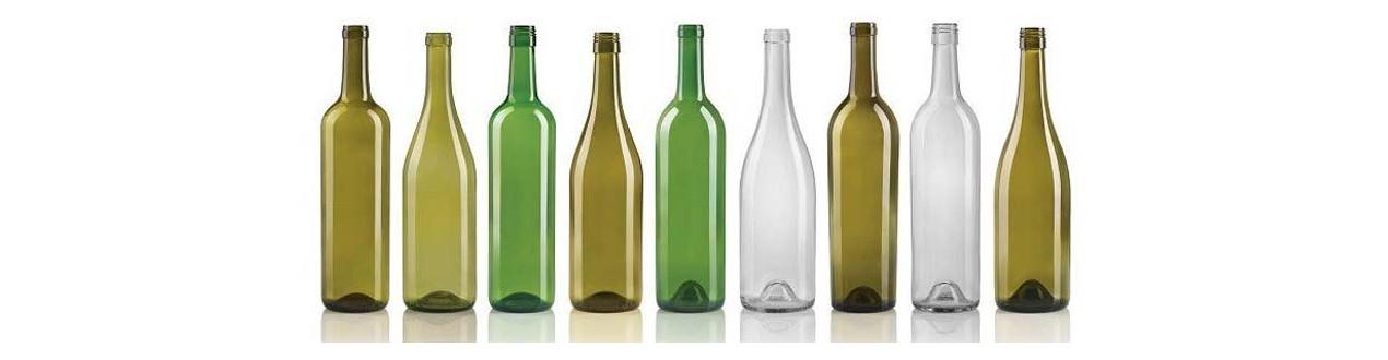 Vīna pudeles
