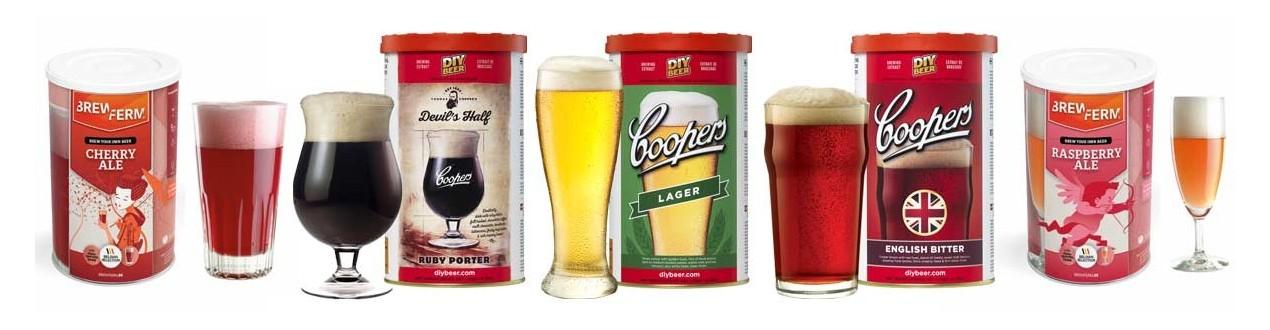 Beer malt extracts