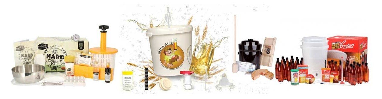 Starter Kits for beer and wine making