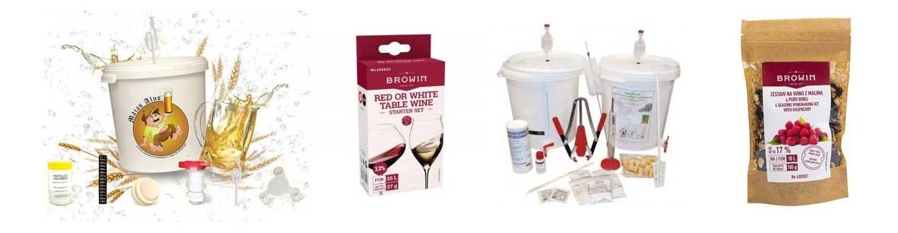 Vyno gaminimo pradiniai rinkiniai