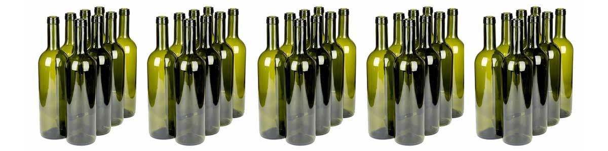 Hulgimüügi veinipudelid