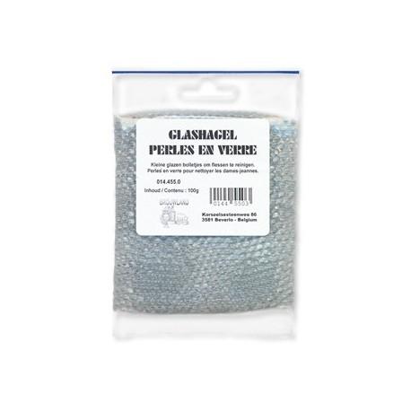 Glass beads 1kg, 4x4mm