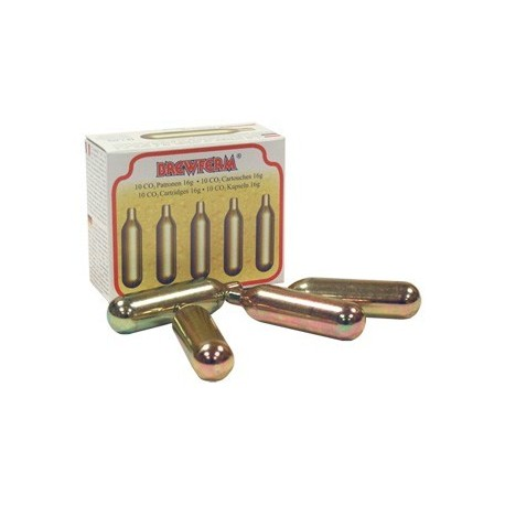 CO2 cartridges for pouring drinks 10 pcs.