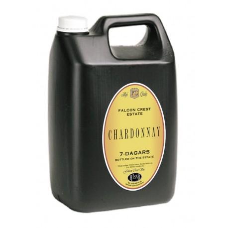 """Vīna koncentrāts """"Chardonnay"""" 7 dienās 5L"""