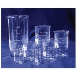 Hitzebeständiger Glasmessbecher 400ml