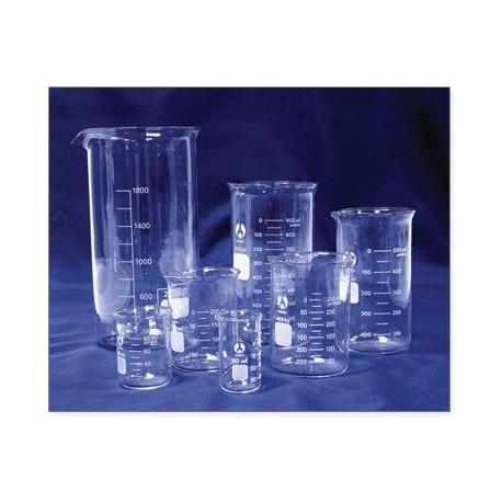 Karščiui atsparus stiklinis matavimo puodelis 400ml