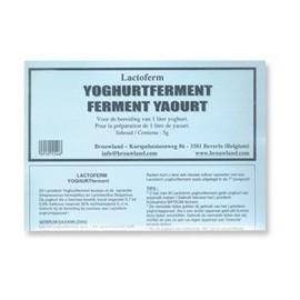 Yogurt culture LACTOFERM 5 g per 15-20 liters of milk