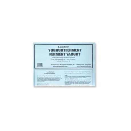Jogurtikultuur LACTOFERM 5 g (15-20 piima kohta)