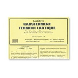 Cheese starter culture LACTOFERM 5 g per 100 liters of milk