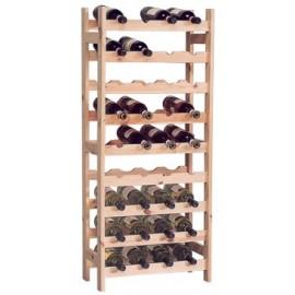 vynas-rack medienos 36 buteliai