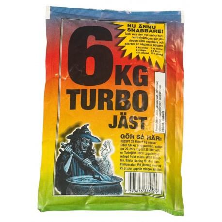 Turbo mielės 6 JAST