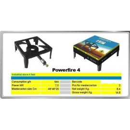 Gasbrenner POWERFIRE 4 IGI 7,5 kW
