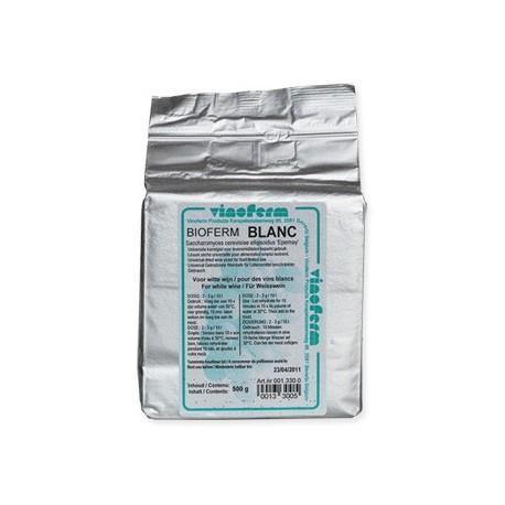 Dried yeast BIOFERM BLANC 500 gr (2-3g / 10L)