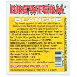 Brewing yeast BREWFERM BLANCHE 12 gr