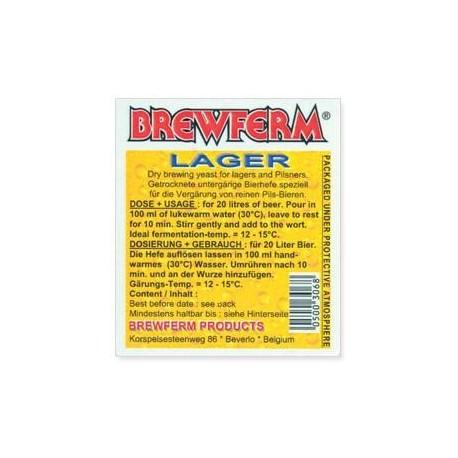 Brewing yeast BREWFERM LAGER 100gr