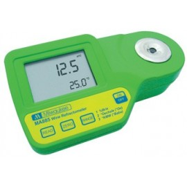 Digital refractometer 0-230 Oe + 0-50 Brix