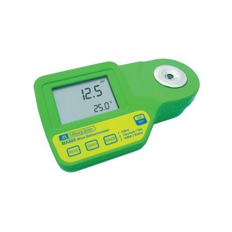 Digitales Refraktometer 0-230 Oe + 0-50 Brix