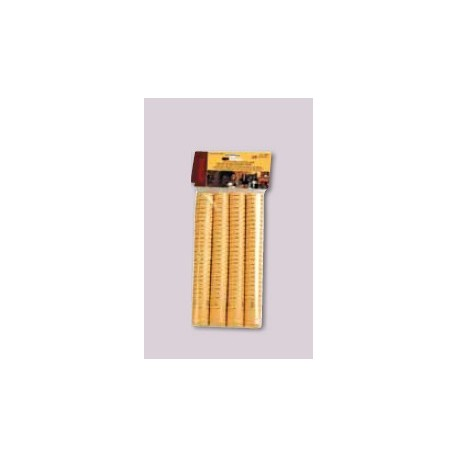 Thermocapsules for wine bottles Ø31x55mm 100pcs. (gold)