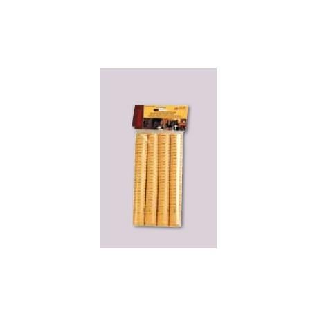 Thermocapsules (gold) 100pcs.