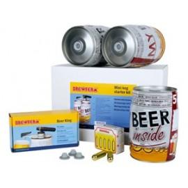 Komplektas gėrimams pilti - alaus statinės