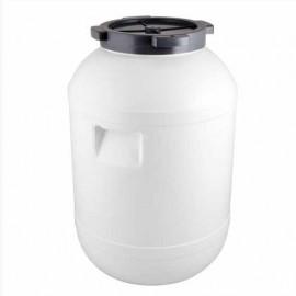Пластиковая бочка с ручками и винтовой крышкой на 65 литров