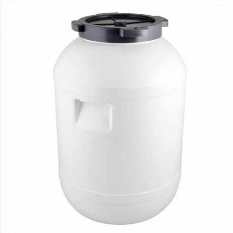 Plastikust barrel kapsa skābēšanai 65L