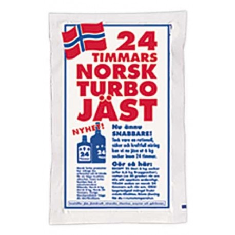 Turbo yeast 24H Norsk